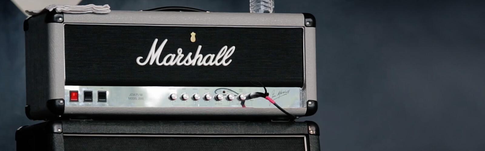 Marshall amplifier head