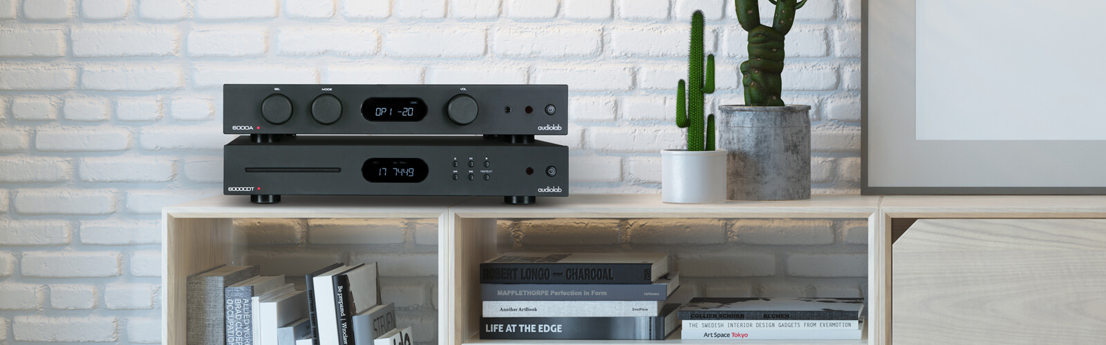 shelf stereo components for consumer electronics