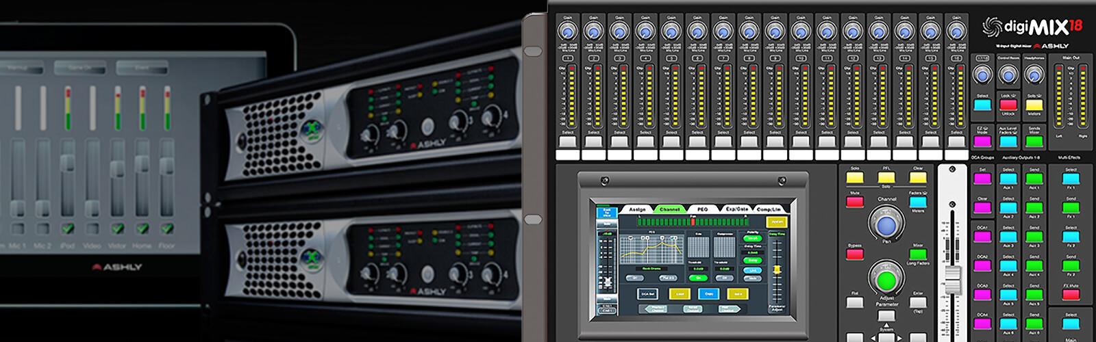 digital mixing software example