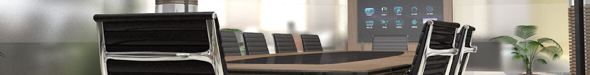 conference room table chairs large screen