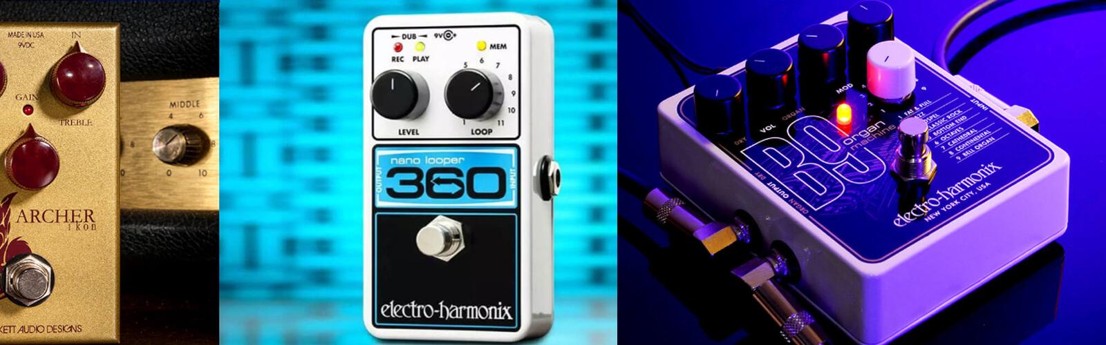 Electro-Harmonix foot pedals